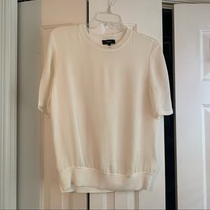 Theory silk top size small